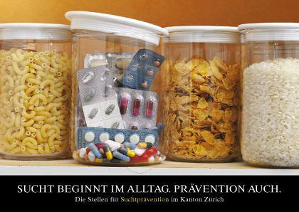 Kampagne Sucht im Alltag I Medikamente I Plakat A2