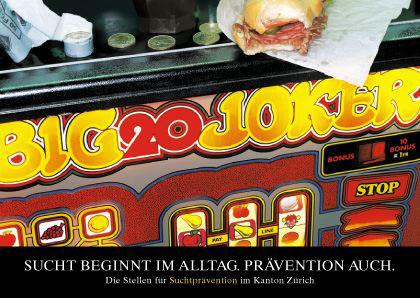 Kampagne Sucht im Alltag I Spielsucht I Plakat A2