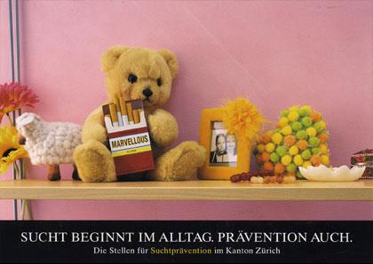Kampagne Sucht im Alltag I Rauchen I Plakat A2