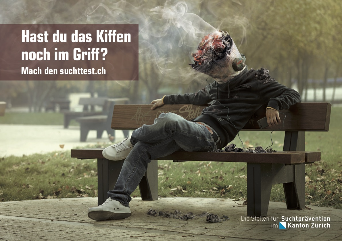 Aktuelle Kampagne I Cannabis I Postkarte / Plakat A3
